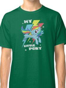 Rainbow dash lighting bolts Classic T-Shirt