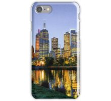 Looking Across the Yarra River Towards Melbourne City iPhone Case/Skin