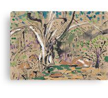 Millstream Pond Canvas Print