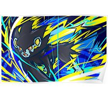 Luxray | Spark Poster