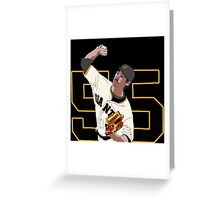 Tim Lincecum Greeting Card