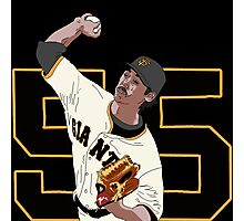 Tim Lincecum Photographic Print