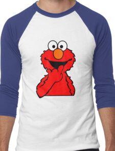Elmo Says Hi Men's Baseball ¾ T-Shirt