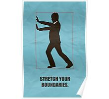 Stretch Your Boundaries - Business Quotes Poster