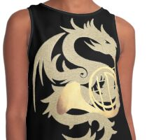 Wild Thing II - Dragon with Natural Horn Contrast Tank