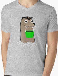 Gerald Funny Mens V-Neck T-Shirt