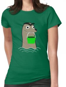 Gerald Funny Womens Fitted T-Shirt
