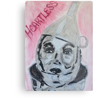 The Tinman is Heartless Metal Print