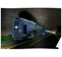 Blue Express Poster