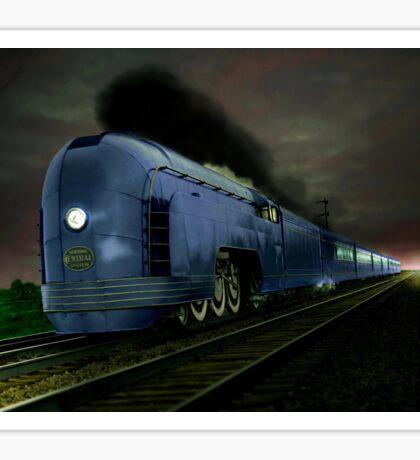 Blue Express Sticker
