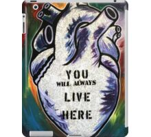 You Will Always Live Here iPad Case/Skin