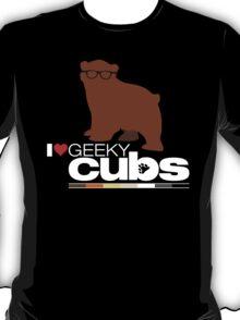 I <3 Geeky Cubs T-Shirt
