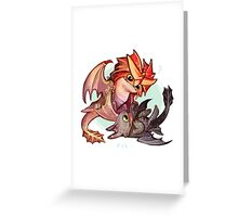 Cloudjumper and Toothless Greeting Card