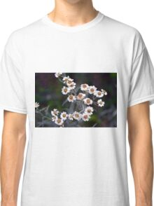Small white flowers in the garden. Classic T-Shirt