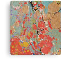 Abstract Painting ; Poppies Canvas Print