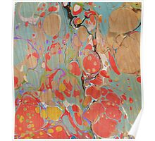 Abstract Painting ; Poppies Poster
