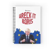 Wreck-It Boris Spiral Notebook