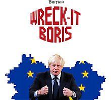 Wreck-It Boris Photographic Print