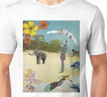 Beach Postcard Unisex T-Shirt