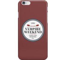 Vampire Weekend // Cape cod rowing iPhone Case/Skin