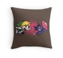 Mega Rupee Throw Pillow