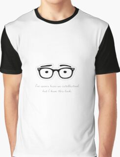 Woody Allen Quote Graphic T-Shirt