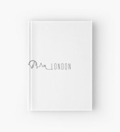 LONDON SKYLINE Hardcover Journal