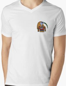 he wants to be a cairo-practor  Mens V-Neck T-Shirt