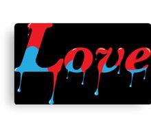 Melting Love Canvas Print