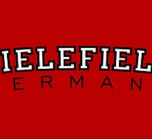 Bielefield Germany Bielefeld Design (Schwarz/Weiß) by theshirtshops