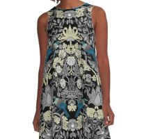 Flowers & Tui - Grey A-Line Dress