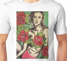 Beauty Among Roses  Unisex T-Shirt