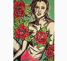 Beauty Among Roses  Unisex T-Shirt