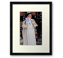 Nun Sense Framed Print