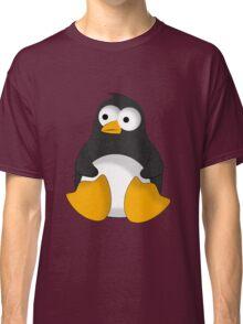 Penguin cartoon drawing Classic T-Shirt