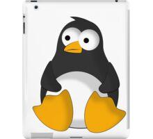 Penguin cartoon drawing iPad Case/Skin