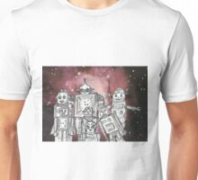 Robot Holiday 1 Unisex T-Shirt