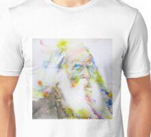 WALT WHITMAN - watercolor portrait.5 Unisex T-Shirt