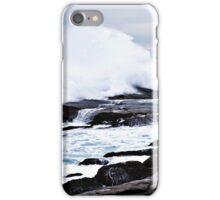 Ferocious Ocean -- Peggy's Cove, Nova Scotia iPhone Case/Skin