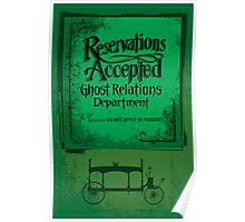 Reservations Accepted design by Topher Adam Poster