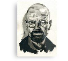 Walter White (aka Heisenberg) of Breaking Bad Metal Print
