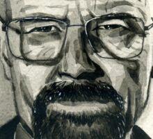 Walter White (aka Heisenberg) of Breaking Bad Sticker