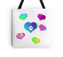 Paws of Love Tote Bag