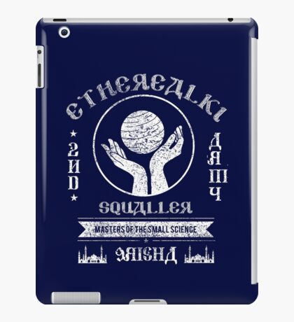 SQUALLER - 2nd Army  iPad Case/Skin