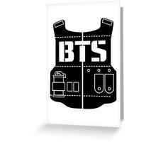 BTS (Bangtan Boys) T-shirt  Greeting Card