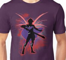 Super Smash Bros. Red Male Corrin Silhouette Unisex T-Shirt