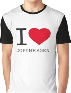 I ♥ COPENHAGEN Graphic T-Shirt