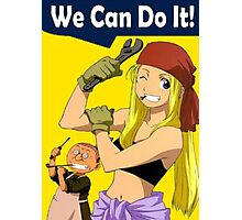 Winry Can Do It Photographic Print