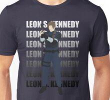 Leon Kennedy Residen Evil 2 Unisex T-Shirt