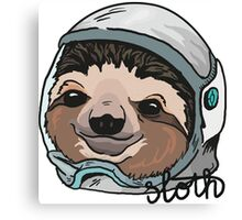 SPACE SLOTH! Canvas Print